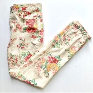 BDG UO High Waisted Floral Print Jeans Size 26
